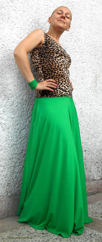 spodnica zielona1