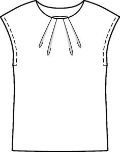 wykroj bluza