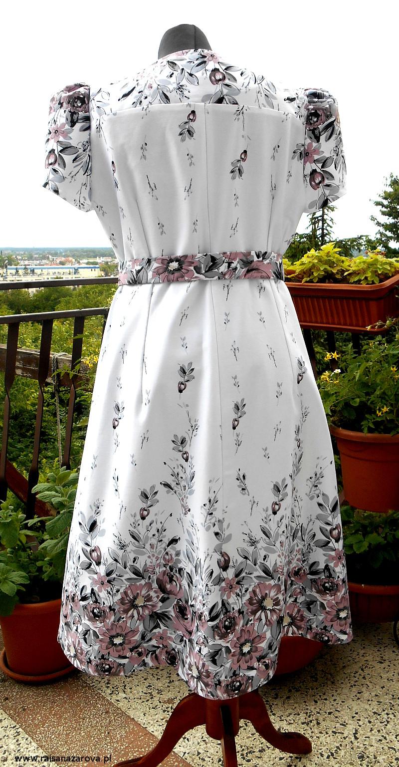 2 sukienka mamy tyl