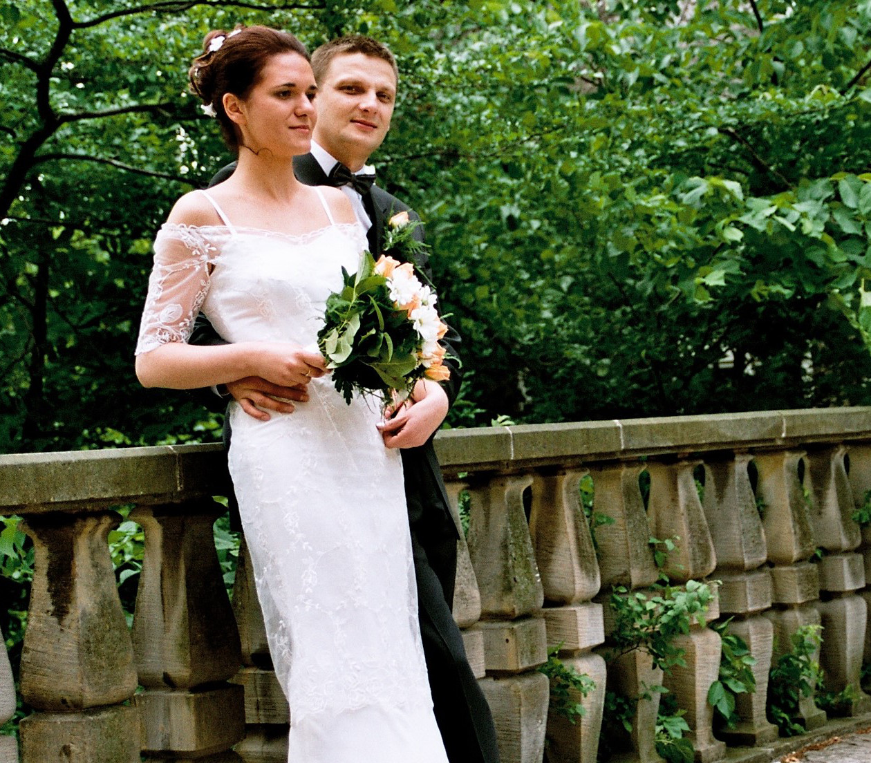 Sukienka ślubna dla Gosi (Kuzynki)