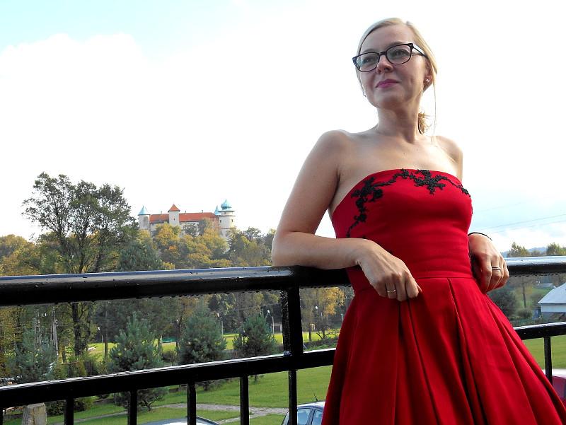 Sukienka i kopertówka zainspirowane Dolce&Gabbana/ Красная инспирация Dolce&Gabbana