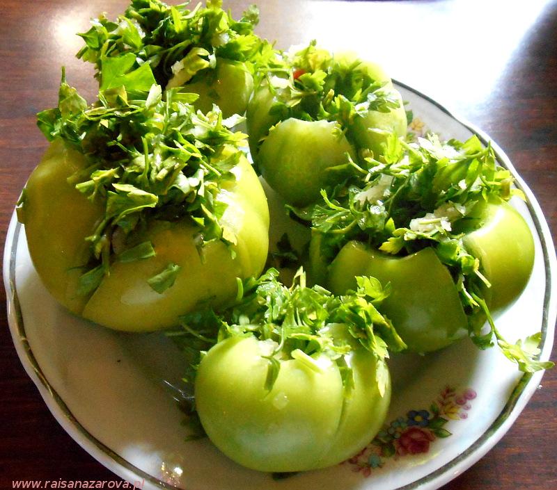 napelnienie pomidorów