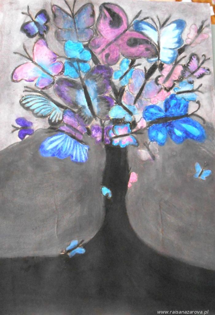 10 motylkowe drzewo