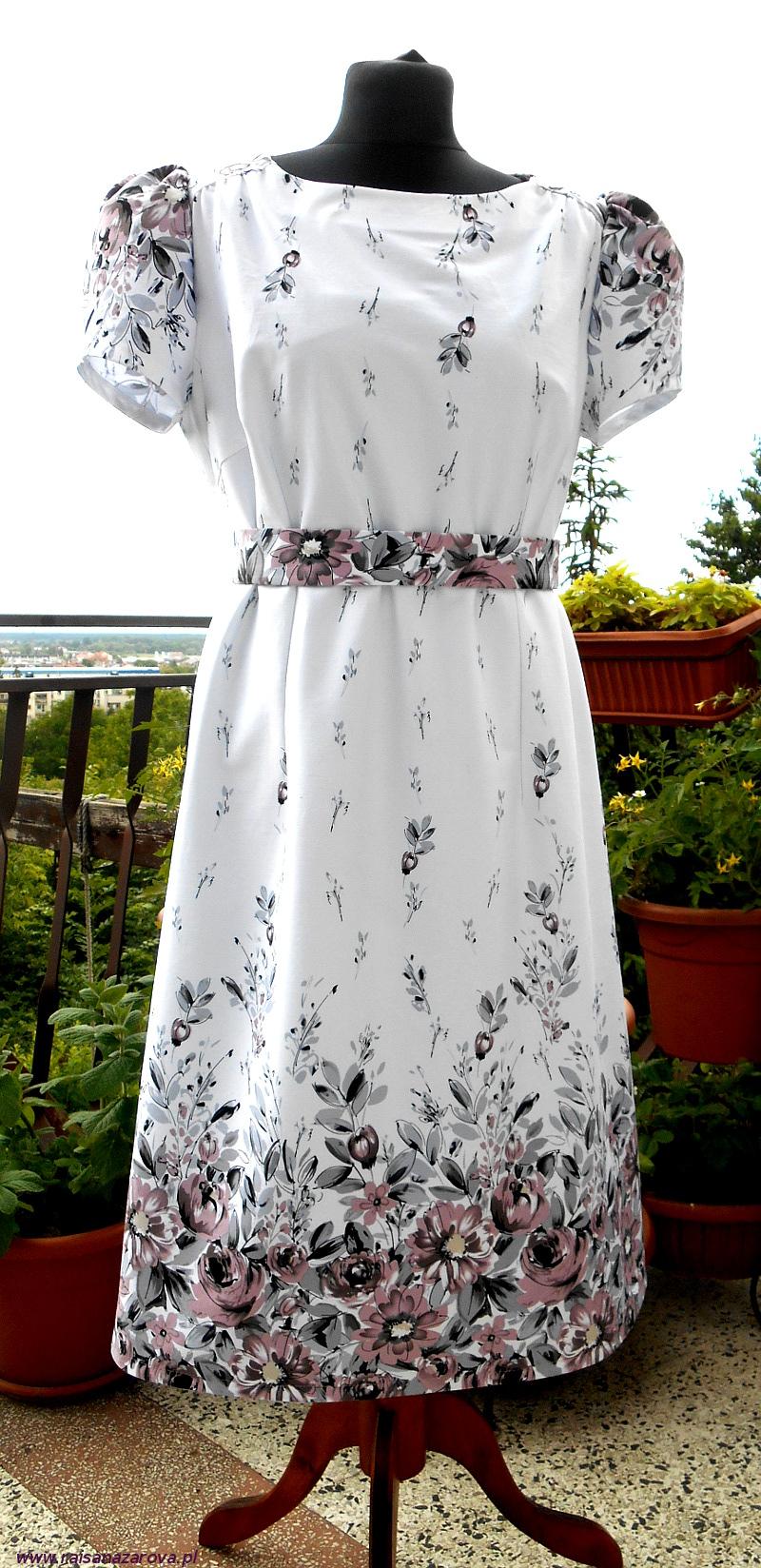 1 sukienka mamy przód