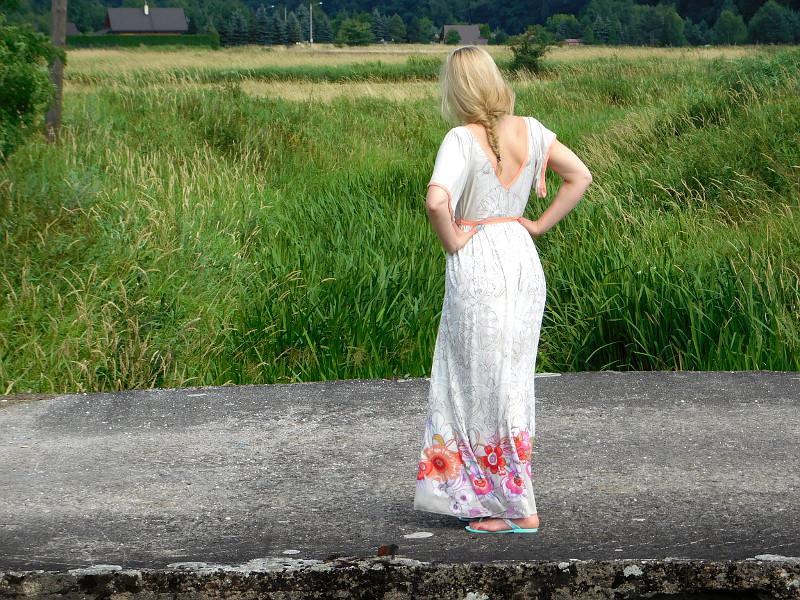 Sukienka rustykalna