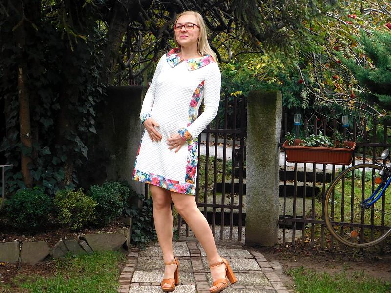 Sukienka wspomnienie z lat 70-tych