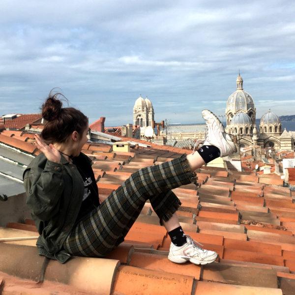 Spodnie, które zwiedziły Marsylię